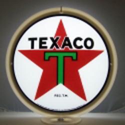 Texaco T Gas Pump Globe