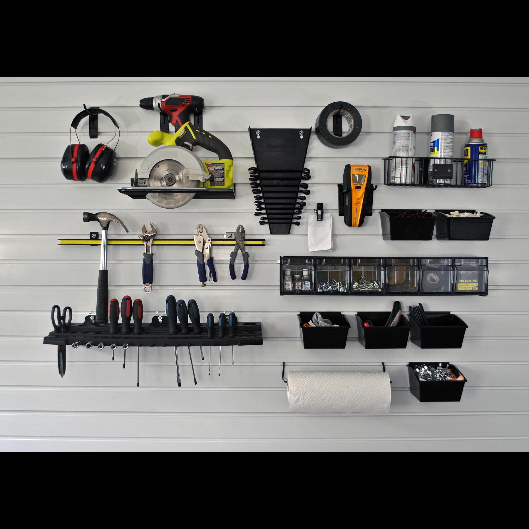 Slatwall Work Center Kit