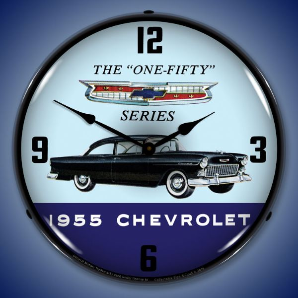 1955 Chevy 150 Backlit Clock