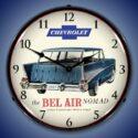 1957 Chevrolet Bel Air Nomad Backlit Clock