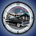 1957 Chevy Esso Backlit Clock