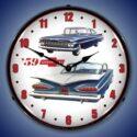 1959 Chevrolet Backlit Clock