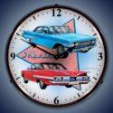 1960 Chevy Impala Backlit Clock