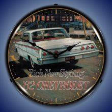 1962 Chevy Impala Backlit Clock