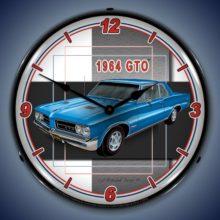 1964 GTO Backlit Clock