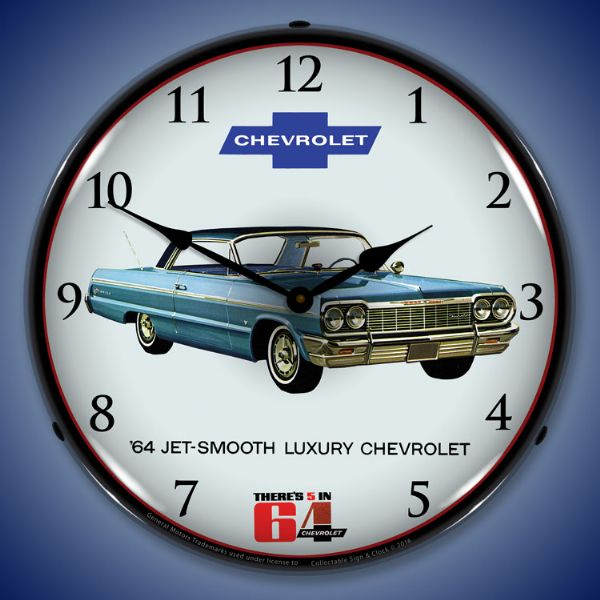 1964 Impala Backlit Clock