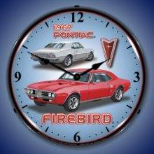 1967 Firebird Backlit Clock