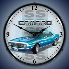 1968 SS Camaro Backlit Clock