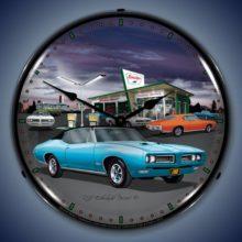1968 GTO Backlit Clock
