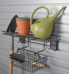 HandiWall Garden Rack and Basket