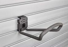 HandiWall Large Loop Hook with Lock on Slatwall Panels