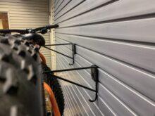 HandiWall Horizontal Bike Hooks